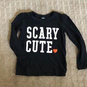 Scary Cute Halloween shirt 5t